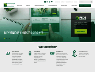 fedecredito.com.sv screenshot