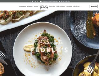 fedeles.com.au screenshot