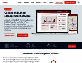 fedena.com screenshot