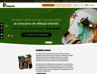 fedepalma.org screenshot