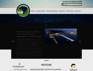 federacaodosestivadores.org.br screenshot