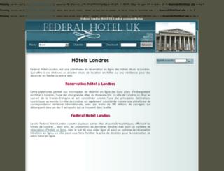 federal-hotel-london.co.uk screenshot