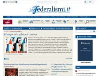 federalismi.net screenshot