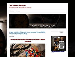 federalobserver.com screenshot