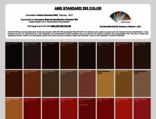 federalstandardcolor.com screenshot