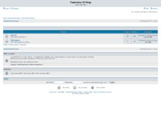 federationofkings.forums-free.com screenshot
