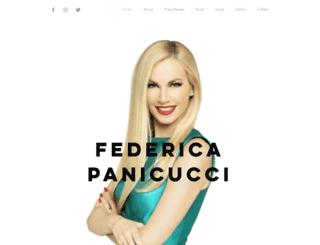 federicapanicucci.it screenshot
