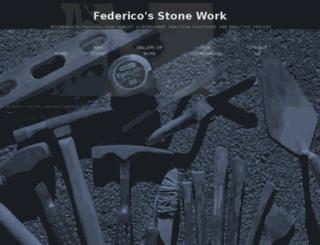 federicosstonework.com screenshot
