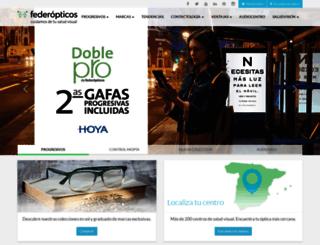 federopticos.com screenshot