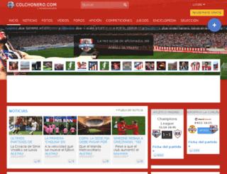 fedex.colchonero.com screenshot