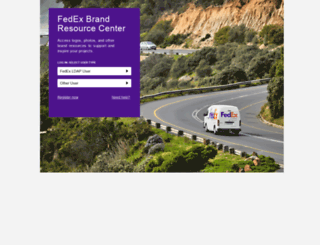 fedex.datafox.biz screenshot
