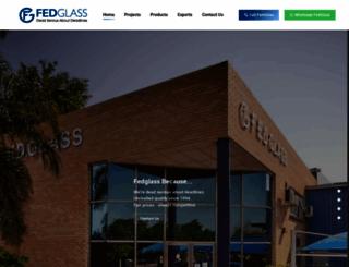 fedglass.co.za screenshot