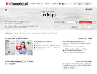 fedo.pl screenshot