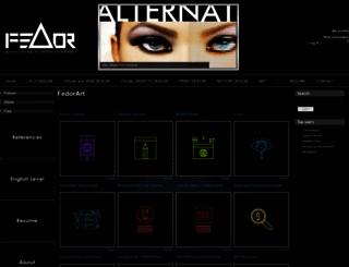 fedorart.com screenshot