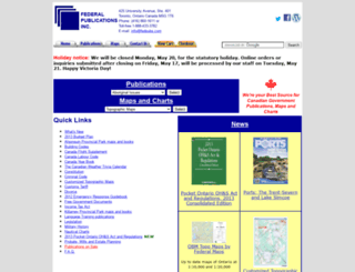 fedpubs.com screenshot