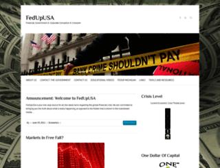 fedupusa.org screenshot