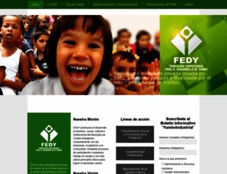 fedy.org.co screenshot