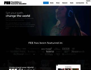 fee.org screenshot