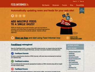 feed.informer.com screenshot
