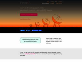 feed43.com screenshot
