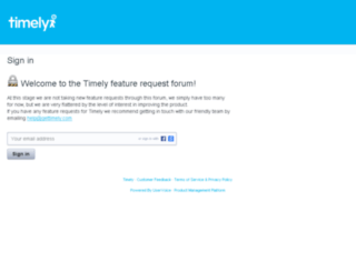 feedback.gettimely.com screenshot