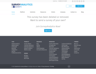 feedbackfridaymysterytrain.surveyanalytics.com screenshot