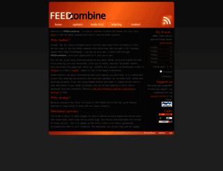 feedcombine.co.uk screenshot