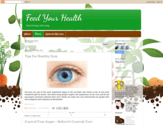 feedhealth.blogspot.ca screenshot