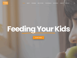 feedingyourkids.com screenshot