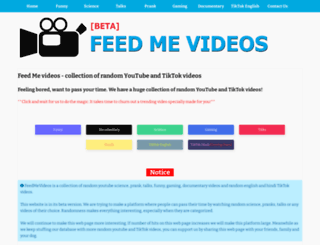 feedmevideos.blogspot.in screenshot