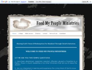 feedmypeopleministries.com screenshot