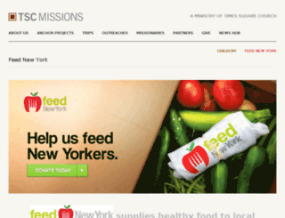 feednewyork.org screenshot