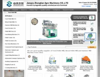 feedpelletmillmachine.com screenshot