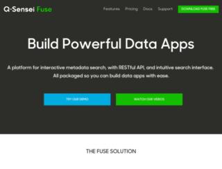 feeds.qsensei.com screenshot