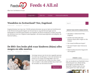 feeds4all.nl screenshot
