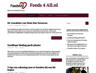 feeds4all.nl screenshot