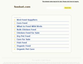 feedset.com screenshot