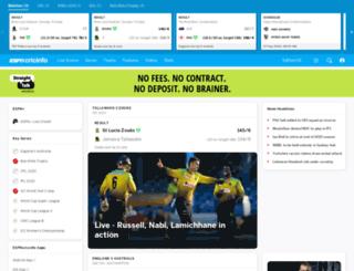 feedsuk.cricinfo.com screenshot