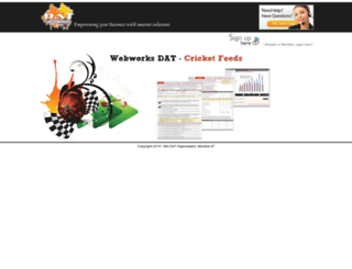 feedui.webworksdat.com screenshot