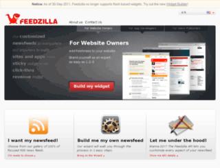feedzilla.com screenshot
