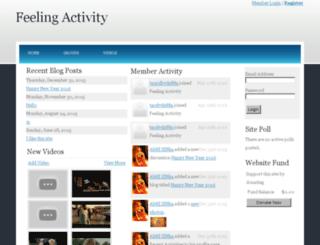 feelingactivity.spruz.com screenshot