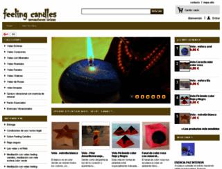 feelingcandles.com screenshot