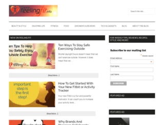 feelingfit.info screenshot