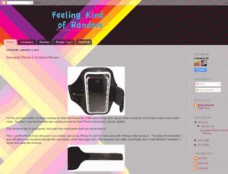 feelingkindofrandom.blogspot.com screenshot