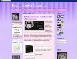 feelinkindacrunchy.blogspot.com screenshot