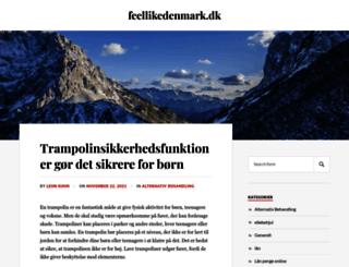 feellikedenmark.dk screenshot