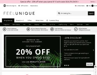 feelunique.com screenshot