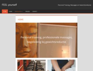 feelyourself.nl screenshot