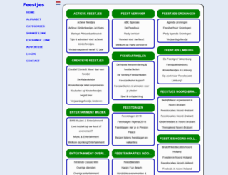 feestjes.sitepark.nl screenshot