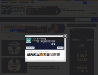 feetrimahadzir.com screenshot